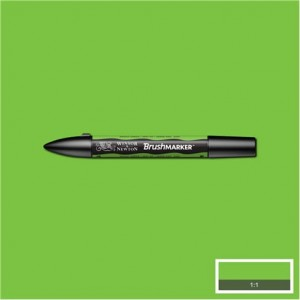 Winsor & Newton Brushmarker Bright Green