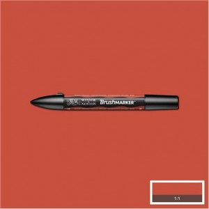 Winsor & Newton Brushmarker Burnt Orange