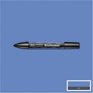Winsor & Newton Brushmarker China Blue
