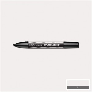 Winsor & Newton Brushmarker Cool Grey 1