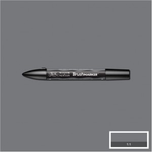 Winsor & Newton Brushmarker Cool Grey 4