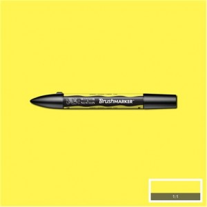 Winsor & Newton Brushmarker Lemon