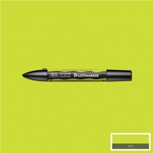 Winsor & Newton Brushmarker Lime Green