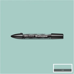 Winsor & Newton Brushmarker Pebble Blue