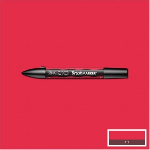 Winsor & Newton Brushmarker Red