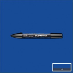Winsor & Newton Brushmarker Royal Blue