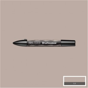 Winsor & Newton Brushmarker Warm Grey 2