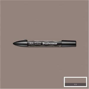 Winsor & Newton Brushmarker Warm Grey 4