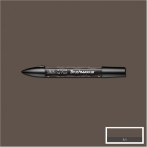 Winsor & Newton Brushmarker Warm Grey 5