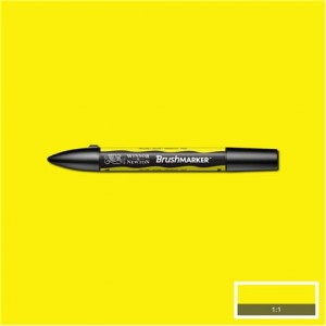 Winsor & Newton Brushmarker Yellow