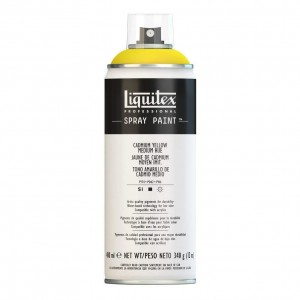 Farba Akrylowa Liquitex Spray Paint Cadmium Yellow Medium Hue