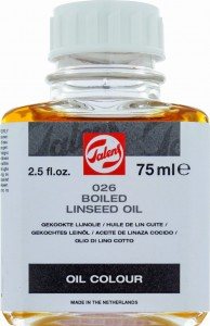 Talens Boiled Linseed Oil 75ml