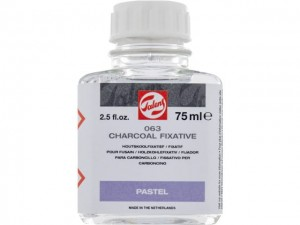 Talens Fixative for Charcoal 75ml