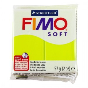 Masa Fimo Soft 56g Green Lime
