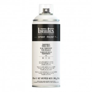 Farba Akrylowa Liquitex Spray Paint Transparent Mixing White