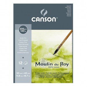 Canson Moulin du Roy 30x40 Drobnoziarnisty