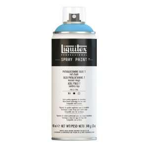 Farba Akrylowa Liquitex Spray Paint Phthalocyanine Blue 7 (Red Shade)