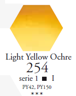 Sennelier Akwarela 1/2 Kostki Light Yellow Ochre