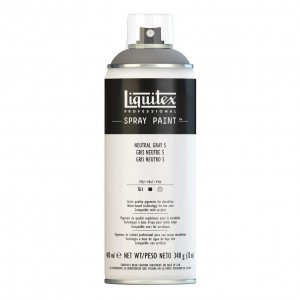 Farba Akrylowa Liquitex Spray Paint Neutral Grey 5