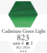 Sennelier Akwarela 1/2 Kostki Cadmium Green Light