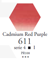 Sennelier Akwarela 1/2 Kostki Cadmium Red Purple