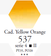 Sennelier Akwarela 1/2 Kostki Cadmium Yellow Orange