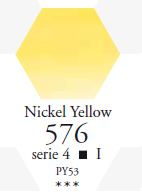 Sennelier Akwarela 1/2 Kostki Nickel Yellow