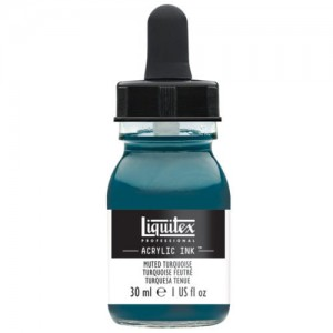 Tusz Akrylowy Liquitex Muted Turquoise