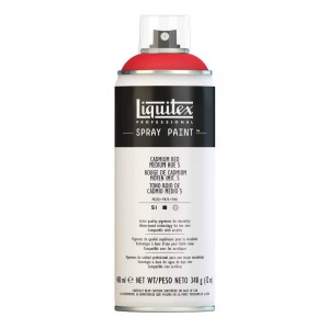 Farba Akrylowa Liquitex Spray Paint Cadmium Red Medium Hue 5