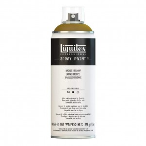 Farba Akrylowa Liquitex Spray Paint Bronze Yellow