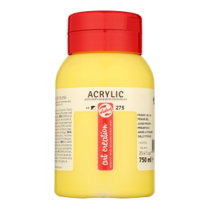 Art Creation Talens Farba Akrylowa 750ml Primary Yellow