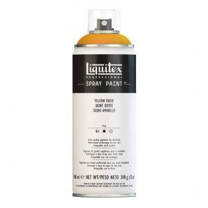 Farba Akrylowa Liquitex Spray Paint Yellow Oxide