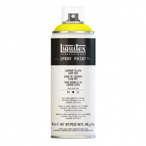 Farba Akrylowa Liquitex Spray Paint Cadmium Yellow Light Hue