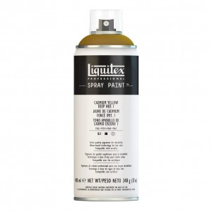 Farba Akrylowa Liquitex Spray Paint Cadmium Yellow Deep Hue 1