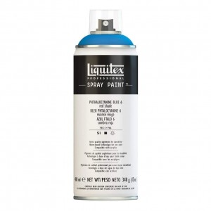 Farba Akrylowa Liquitex Spray Paint Phthalocyanine Blue 6 (Red Shade)