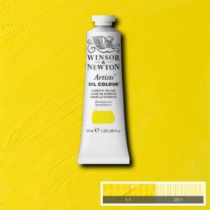 Farba Artists' Oil Colour Winsor & Newton Bismuth Yellow