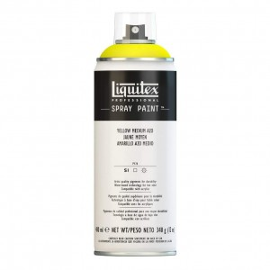 Farba Akrylowa Liquitex Spray Paint Yellow Medium Azo