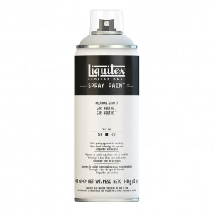 Farba Akrylowa Liquitex Spray Paint Neutral Grey 7