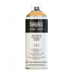 Farba Akrylowa Liquitex Spray Paint Naples Yellow Hue