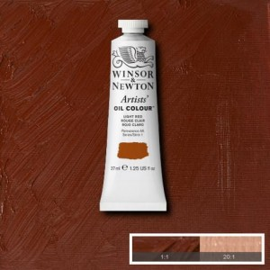 Farba Artists' Oil Colour Winsor & Newton Light Red