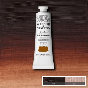 Farba Artists' Oil Colour Winsor & Newton Brown Madder