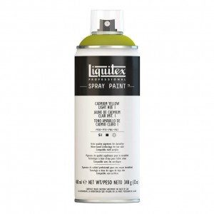 Farba Akrylowa Liquitex Spray Paint Cadmium Yellow  Light Hue 1