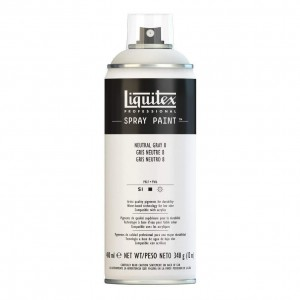 Farba Akrylowa Liquitex Spray Paint Neutral Grey 8