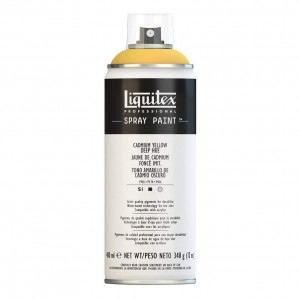 Farba Akrylowa Liquitex Spray Paint Cadmium Yellow Deep Hue