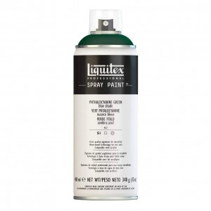 Farba Akrylowa Liquitex Spray Paint Phthalocyanine Green (Blue Shade)