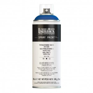 Farba Akrylowa Liquitex Spray Paint Phthalocyanine Blue 5 (Red Shade)