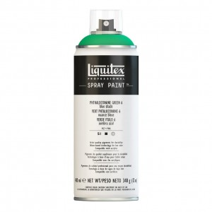 Farba Akrylowa Liquitex Spray Paint Phthalocyanine Green 6 (Blue Shade)