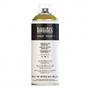 Farba Akrylowa Liquitex Spray Paint Cadmium Yellow Medium Hue 1