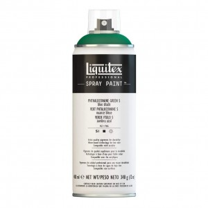 Farba Akrylowa Liquitex Spray Paint Phthalocyanine Green 5 (Blue Shade)