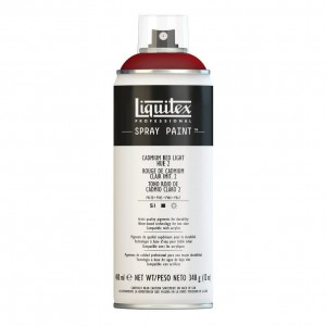 Farba Akrylowa Liquitex Spray Paint Cadmium Red Light Hue 2